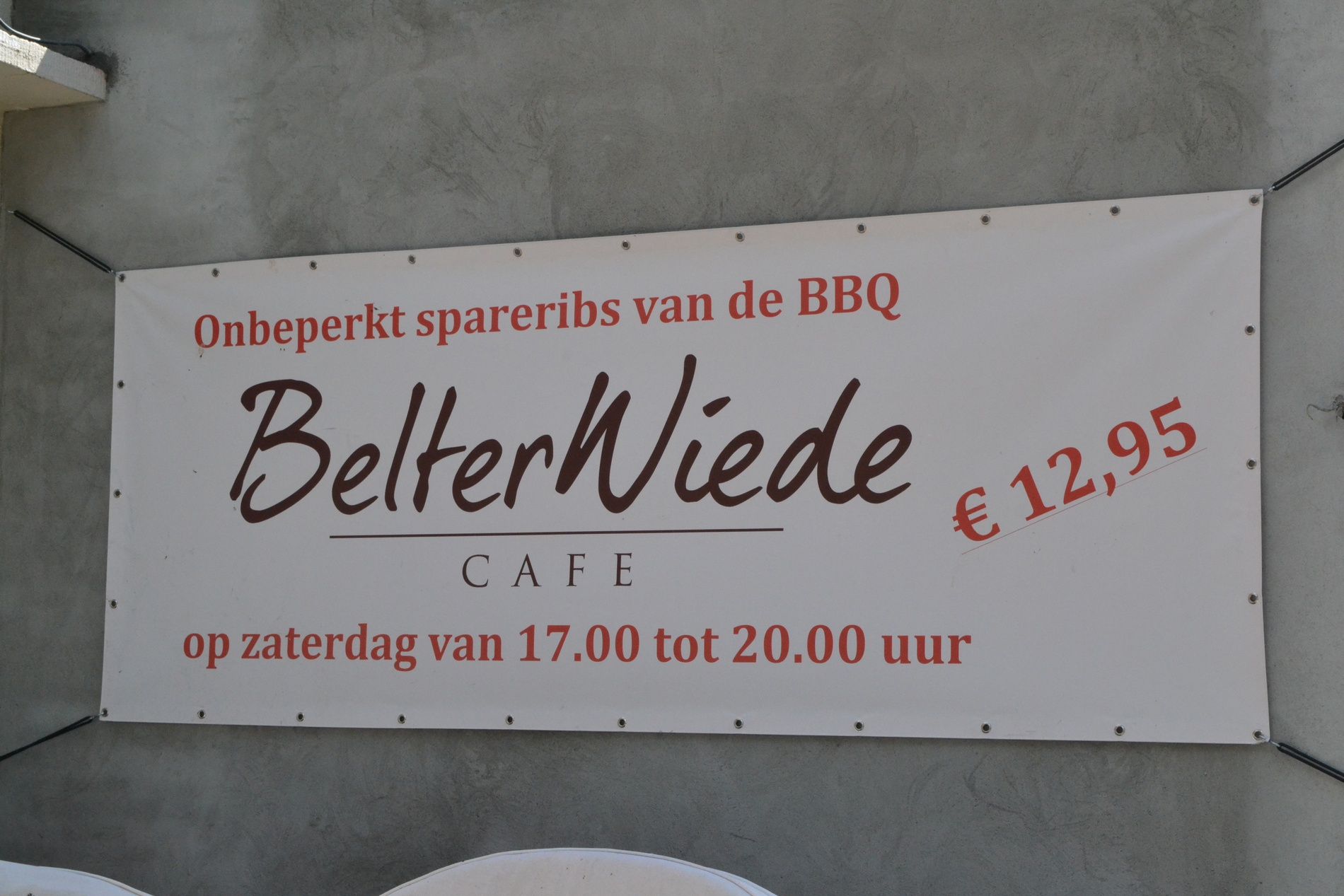 Spareribs Restaurant Belterwiede Wanneperveen
