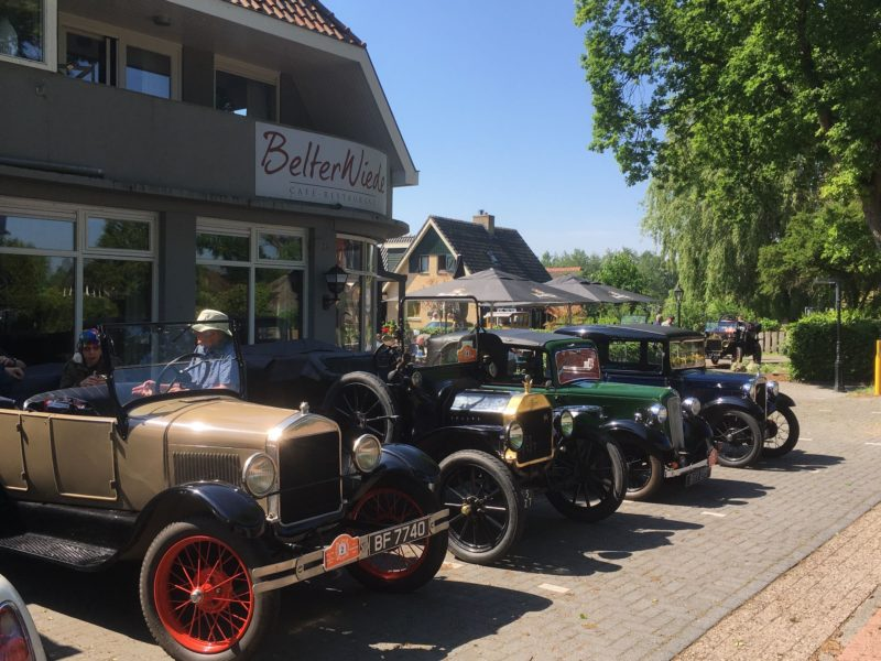 Oldtimers Bij Belterwiede Restaurant Wanneperveen