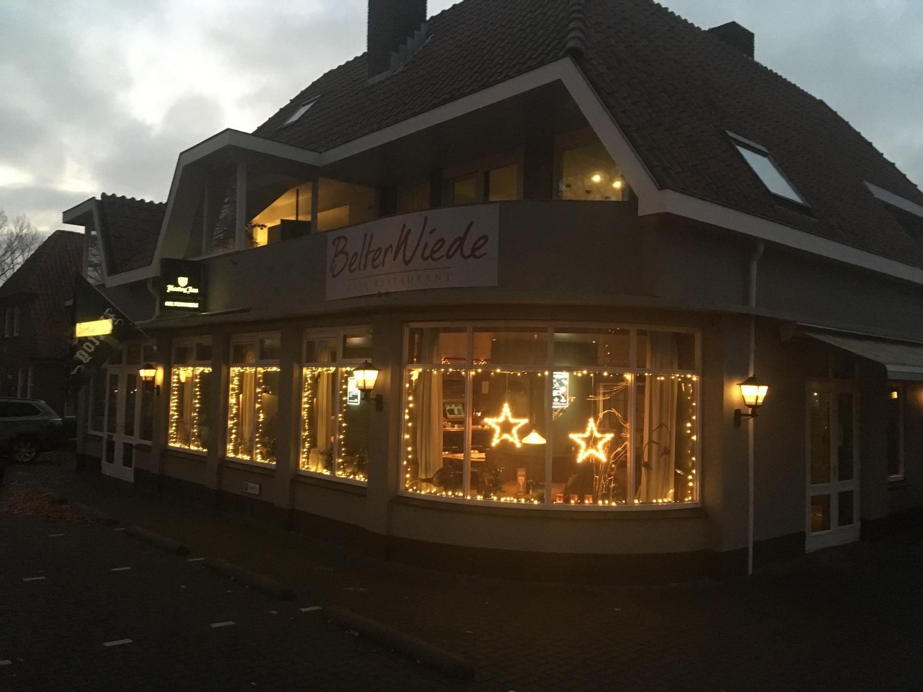 Restaurant Belterwiede Wanneperveen Kerst